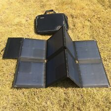Foldable 18V 100W Solar Panel Charger Pack for 12V Lead Batteries and Laptop