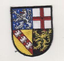 Germany Polizei Shoulder Patch Police Saarland Wappenschild Alte Ausführung