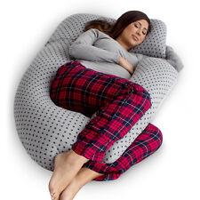PharMeDoc U-Shaped Pregnancy Pillow, Full Body Pillow & Maternity Support