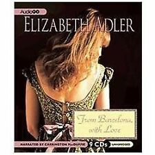 From Barcelona, with Love by Elizabeth Adler (2011, CD)
