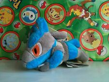 Pokemon Plush Laying Lucario Banpresto 2006 UFO doll stuffed figure Toy riolu