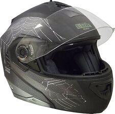 EOLE Casque moto Intégral Black Spider, Noir, Taille S 55/56cm *NEUF*