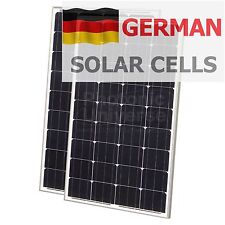 200W solar panels (100W+100W modules) for charging 12V/24V batteries 200 watt