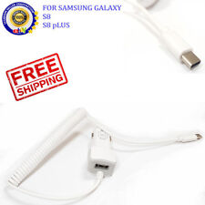 FAST CHARGER Type-C Car Charger For Samsung Galaxy S8 and S8 Plus 2AMP