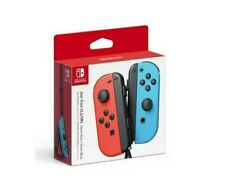 Nintendo Switch Joy Con Controller Pair Official Red & Blue- 6 MONTH WARRANTY