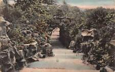 "Lancashire, Barrowford, Nelson The ""Grotto"" Victoria Park 1905"