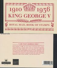 GB - 2010 PRESTIGE MARKENHEFT MH 164 - THRONBESTEIGUNG KING GEORGE V BOOKLET **