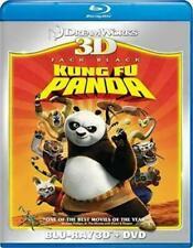 Kung Fu Panda 3D (2 Disc Combo Pack / Blu-ray+3D+DVD) JACK BLACK / New Sealed!