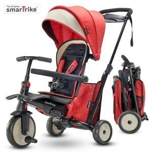 NEW Smartrike STR5 Melange Red  Folding Stroller Certified Trike from Mr Toys