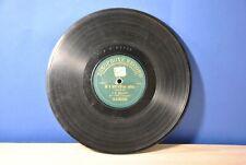 Zonophone record Antique gramophone record. 20th century beginning. 2