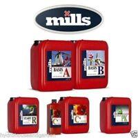 Mills Nutrients C4 Start R PK Base Set for Hydroponics, Soil 5 1 Liters/Quarts
