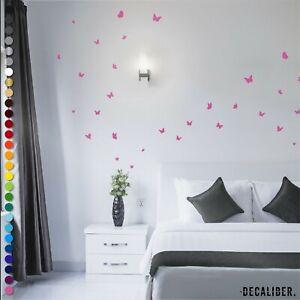 Butterfly Stickers - Premium Quality Butterflies Wall Art Matte Vinyl Decal Home