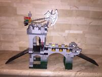 LEGO KNIGHTS KINGDOM GARGOYLE BRIDGE SET 8822 INCOMPLETE