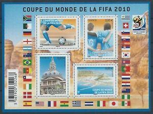 F4481 - FEUILLE DE TIMBRES NEUFS - Coupe du monde de Football // 2010