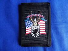 POW - MIA ( WE LEAVE NO ONE BEHIND ) HEAVY DUTY WALLET