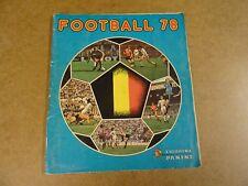 PANINI ALBUM COMPLET / KOMPLEET / FOOTBALL 1978