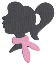 Quickutz/Lifestyle Crafts rs-0709 Silhouette Girl 1 Cutting Die NEW  rare