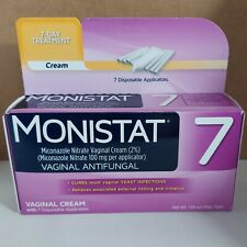 Monistat 7-Day Treatment Vaginal Antifungal Cream 1.59 oz (45 g) Tube EXP 12/21