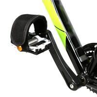 2Pcs/set Black Pedal Straps FIXED GEAR FIXIE BMX PLAT FORM PEDALS Bicycle Bike