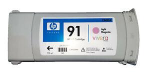HP 91 Ink Cartridges, Original, Expired, All colours. Designjet z6100