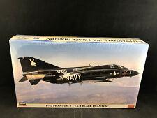 Hasegawa F-4J Phantom II VX-4 Black Phantom 1:72 Scale Model Kit 09126 NIB