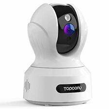 Cámara De Seguridad topcony WIFI Cámara IP, 1080P HD Vigilancia del Hogar, Cctv