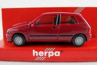 Herpa 021364 Renault Clio16V (1991-1994) in violett 1:87/H0 NEU/OVP