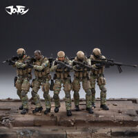 JOYTOY 1/18 US Army Cavalry Regiment Action Soldier Toys 5 Figures Set JTUS004