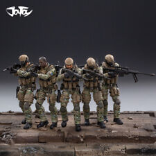 JOYTOY  JTUS004 1/18 US Army Cavalry Regiment 5 Figures Action Soldier Toys  Set