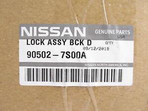 Genuine OEM Nissan 90502-7S00A Rear Liftgate Latch Lock Assy 2005-2015 Armada