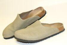 Birki's Birkenstock Germany Made Womens 40 9 Textured Birko Clogs Sandals