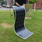 DOKIO 18V 100W Flexible Solar Panel Electricity Car/Boat/Home Battery Charge 12V