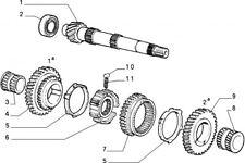 7617533 - Sincronizzatore FIAT Panda 4x2 e 4x4 1985/2003 Panda DS 1986/2003 Y10
