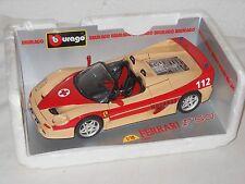 BBURAGO-SPECIALE-modello in metallo - 1:18 - scale-Ferrari F 50 pronto soccorso