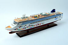 "Norwegian Star Cruise Ship 40"" Handcrafted Wooden Ship Model"