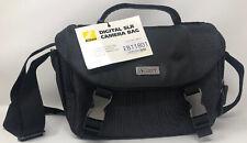Nikon Black Digital SLR Camera Bag with Zipper & Buckles