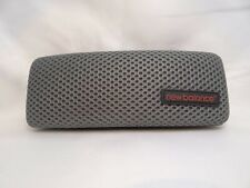 New Balance Hard Clamshell Case in Gray Mesh For Glasses 35mm Authentic & Unused