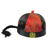 CHINESE ROUND ORIENTAL MERCHANT FANCY DRESS HAT