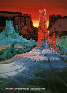 """Michael Atkinson """"Monument Canyon"""" Limited Edition Hand Signed Serigraph"""
