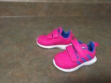 Toddler Girls Adidas AQ3843 Pink Sneakers Size 5K (CON12)
