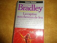 LA CAPTIVE AUX CHEVEUX DE FEU   BRADLEY  presse pocket no 5364