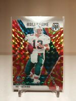 2020 Panini Mosaic Orange Reactive Prizm Dan Marino Hall Of Fame 🔥 Dolphins