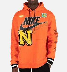 Nike Sportswear Air Element Heavyweight Hoodie Orange CPFM DC2722-891 Men's S