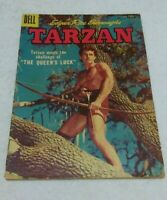 Dell Edgar Rice Burroughs May 1957 Tarzan Comic Vol. 1 No. 92