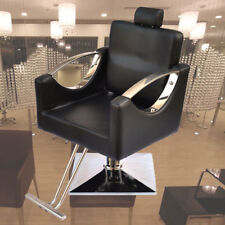 Hydraulic Reclining Barber Salon Chair Hairdressing Spa Furniture New Black