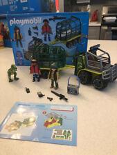 Playmobil 5236 Dinos Transport Vehicle w/ Baby T-Rex Dinosaur Complete Htf