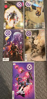 HOUSE & POWERS of X 6 Decades and Foreshadowing Variants NM Unread