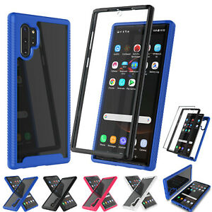 For Samsung Galaxy Note 10 Plus/10+/Note 10 Silm Clear Case + Screen Protector