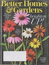 Better Homes & Gardens August 2018 Brighten Up!,  Bold Summer Flavors, Stress Fr