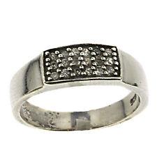 Markenlose Modeschmuck-Ringe im Ehering-Stil aus Sterlingsilber für Damen